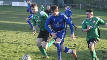 Ilfracombe Town v Sidmouth Town in the South West Peninsula League Premier East. Picture: Matt Smart