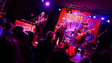 Join the Unravelling Wilburys at The Plough Arts Centre in Torrington on January 25, 2020. Picture: