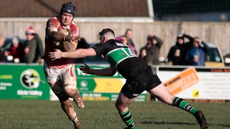Barnstaple v Drybrook in the South West Premier. Picture: Bob Collins