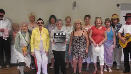 The cast of The Rehearsal Room, aka The Tarka Players, will bring their new musical comedy to Croyde