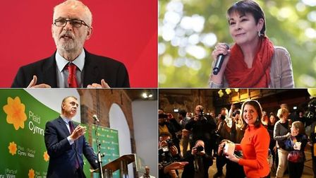 """""""'Farage's U-Turn' has to be a game changer"""". Pundits are calling for an Anti-Tory alliance. Photos:"""