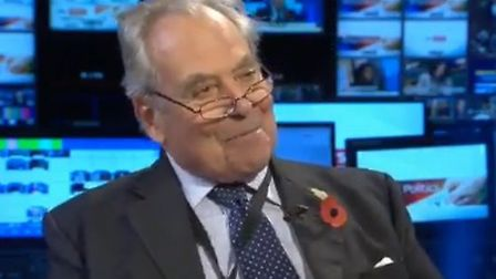 Ofcom has received hundreds of complaints after former UKIP leader Lord Pearson made comments about