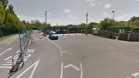 The recycling centre at Seven Brethren in Barnstaple. Picture: Google Streetview