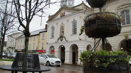 South Molton Town Hall. Picture: Andy Keeble
