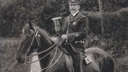 Ilfracombe town crier Robert Martin was found guilty of being 'drunk in charge of a horse'.