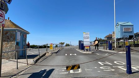 The main car parks in Woolacombe, which are privately owned, have been closed despite a surge of vis