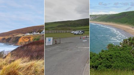 Saunton, Croyde and Putsborough beach car parks have reopened as lockdown restrictions ease. Archive