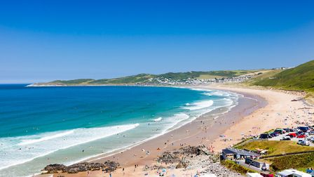Putsborough Sands and its car park pictured before coronavirus lockdown. Picture: Getty/Ian Woolcock