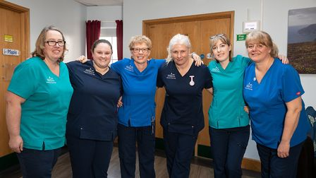 North Devon Hospice's frontline nurses. Picture: Upright Media