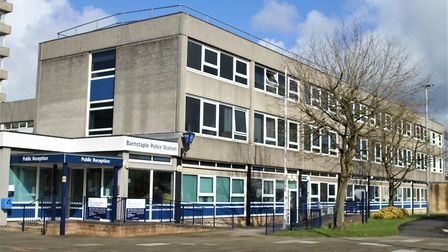 The existing Barnstaple Police Station in North Walk. Picture: Matt Smart