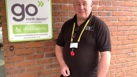 Go North Devon Cancer Care Car driver John Squires. Picture: GND