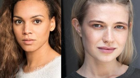 Actors and producers Cat White and Isabella Speaight plan to shoot their new short film Farewell She