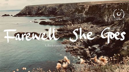 Farewell She Goes early promotional poster.