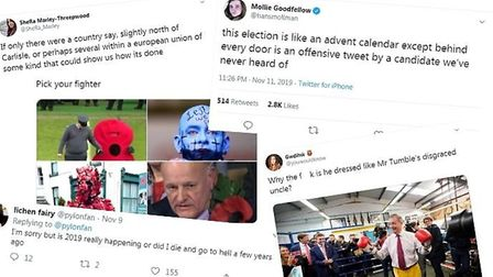 The best ten tweets of the UK 2019 general election so far. Photos: Twitter