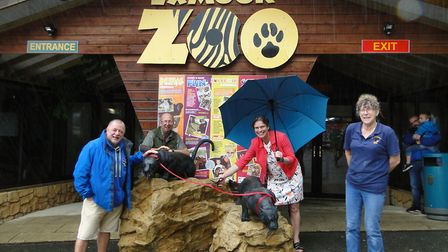 The reopening of Exmoor Zoo with the easing of Covid restrictions was conducted by North Devon MP Se