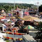 Barnstaple Fair in full swing at Seven Brethren. Picture: Andy Keeble
