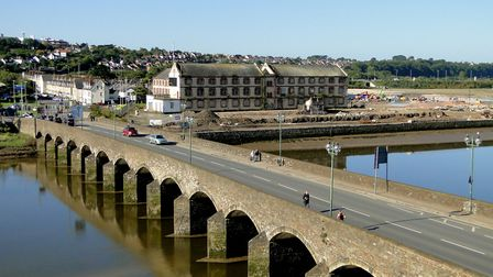 Barnstaple Longbridge. Picture: Andy Keeble