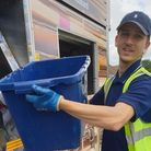 Soon every household in North Devon will receive a new, blue recycling box. Picture: North Devon Cou