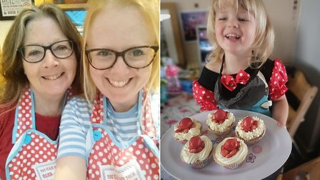 Rosemary and Claire Willmer of Time to Cook have been providing family cookery classes online since