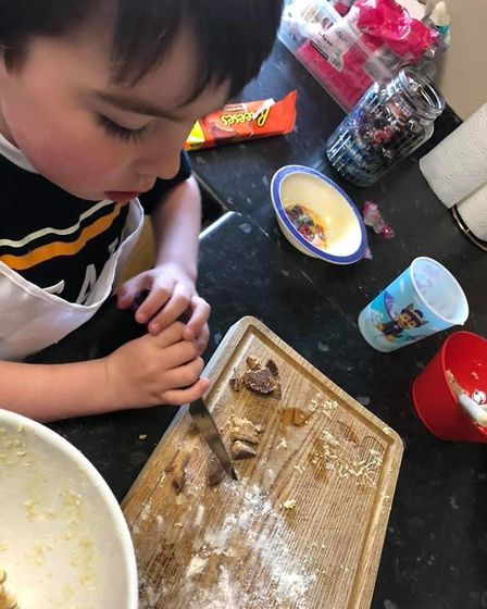 Cookery fun with Time to Cook in Barnstaple.