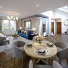 Spacious interior of a dream home on the new Foxglove Lane development Picture: bunnyhomes