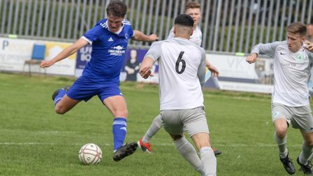 Ilfracombe Town v Ivybridge Town in the South West Peninsula Premier East. Picture: Matt Smart