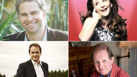 Naturalist Dan Eatherley, comedian Lucy Porter, Ben 'The Stig' Collins and Michael Morpurgo are amon
