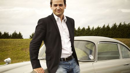 Author, stunt driver and The Stig, Ben Collins, will be among those appearing at Appledore Book Fest