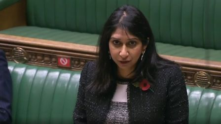 Suella Braverman in the House of Commons