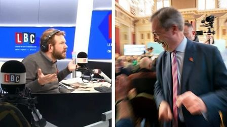 """The dropped Brexit Party candidate told James O'Brien: """"It appears that I've been stood down without"""