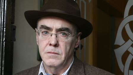 Poet Ciaran Carson. Picture: Getty Images