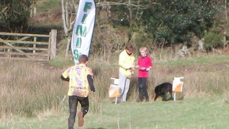 An orienteering check point