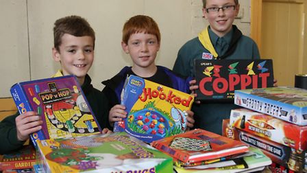 Ottery's Scouts will be out in the town collecting for the annual Jumble Sale in the Institute later