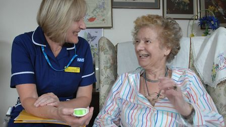 The NHS has launched a New Year campaign to recruit community nurses across East Devon.