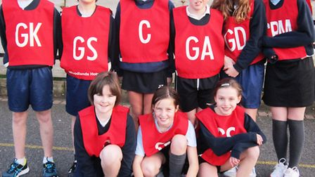 Sidmouth Primary School students enjoyed netball success
