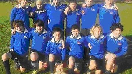 Sidmouth College year 8 rugby