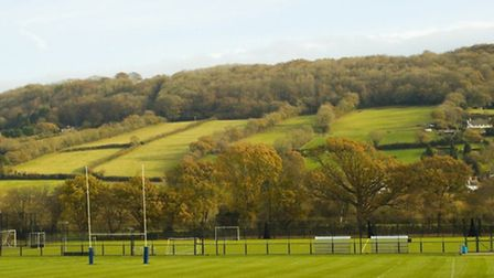 Sidmouth College sportsfield