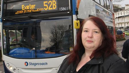 Lynn Cornish from Sidmouth has nearly been made late for work twice because the new busses in Sidmou