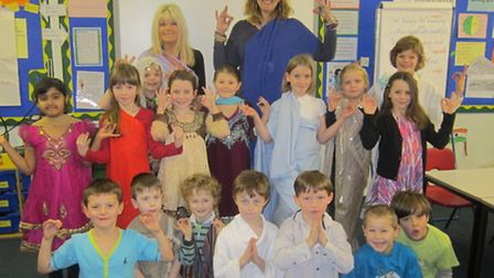Sidmouth Primary School Class 3MH's Indian Day