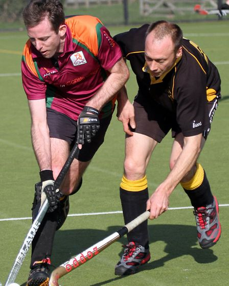 Sidmouth and Ottery Men's 1st hockey team played ECVHA at the weekend. Ref shsp 4323-08-13AW. To ord