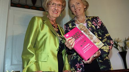 The Great British Bake Off's Mary Berry with Kate Norbury at Kennaway House as part of the 'Meet the