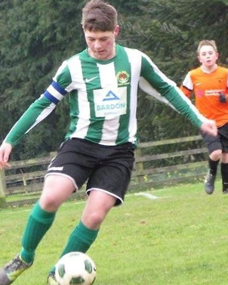 Action from Sidmouth Warriors Under-13s