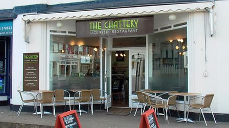 The former Chattery cafe in Sidmouth's High Street, which is set to become a wine-bar after a planni