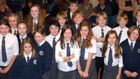 Youngsters from Sidmouth Primary School and Sidmouth College took eachother on in the Youth Speaks C