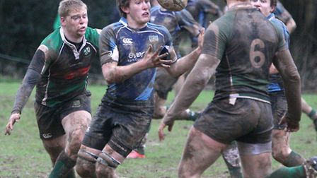 Sidmouth colts took on Ivybridge at Warrens Mead at the weekend. Photo by Terry Ife ref shsp 7906-07