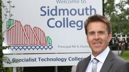 Sidmouth College principal Kenny Duncan