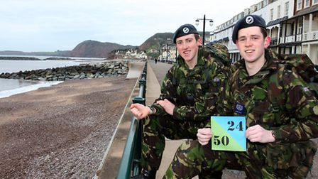 ATC Cadets Tom Palmer and Alex Morton are about to embark on a twenty four hour, fifty mile cliff wa
