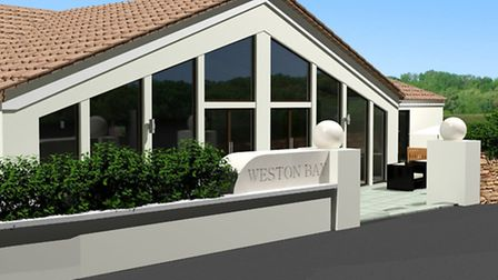 One of the proposed redesigned buildings at the Weston Bay Resort