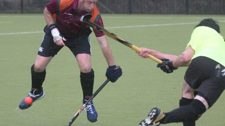 Sidmouth and Ottery Mens 4th at home to North Devon A. Photo by Terry Ife ref shsp 9520-12-13TI To o