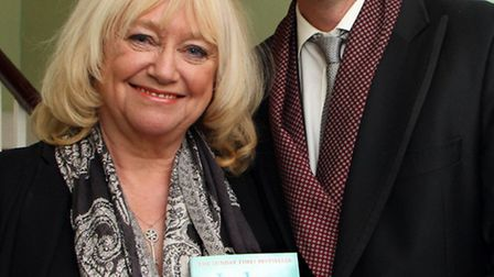 Judy Finnigan and her husband, Richard Madeley, visited Kennaway House on Monday, 18 March to talk a